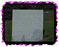 The Marker at the Old Elizabeth Cemetery