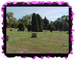 Another view of Peace Lutheran Cemetery.